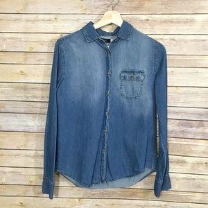 Urban Outfitters BDG Denim Button Up Shirt S
